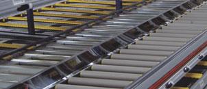 Rafturi metalice pentru marfa paletizata Sistem Drive-In